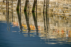 Harbour Reflections Royalty Free Stock Images