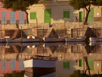 Harbour Reflections Royalty Free Stock Photography