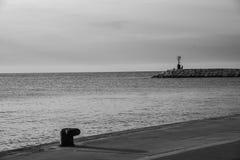 Harbour of Rimini. Seascape in Rimini, Emilia-Romagna (Italy Royalty Free Stock Image