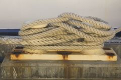 Harbour Rope Capstan marine ship Perth Australia nice Royalty Free Stock Photography