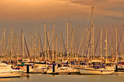 Harbour of Rota Royalty Free Stock Image