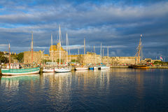 Harbour of  Saint Malo, France Royalty Free Stock Photos