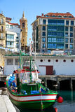 In the harbour of San Sebastian Royalty Free Stock Photography