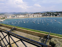 Harbour in San Sebastian Stock Photography