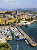 Harbour in San Sebastian Stock Images