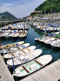 Harbour in San Sebastian Stock Photos