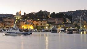 The harbour of Santa Margherita Stock Photos