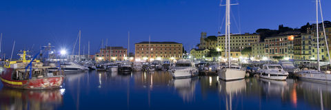 The harbour of Santa Margherita Royalty Free Stock Images