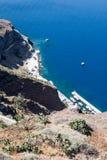 Harbour Santorini Royalty Free Stock Photo
