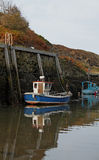 Harbour scene, Amlwch, Anglesey royalty free stock photo