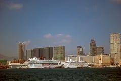 Harbour scene, Kowloon, Hongkong Stock Images