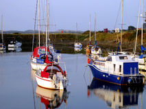Harbour, Shell Island, Wales. Stock Photo