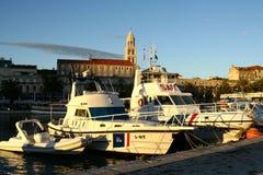 Harbour in Split Croatia Royalty Free Stock Photography