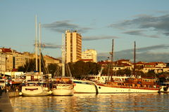 Harbour in Split Croatia Royalty Free Stock Photos