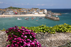 Harbour at St. Ives Royalty Free Stock Photos