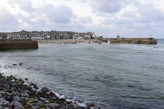 Harbour of  ST. Ives, Cornwall Stock Photos