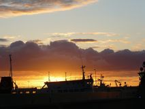 Harbour stock photography