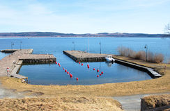 Harbour in Sweden Royalty Free Stock Photography