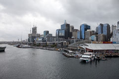 Harbour in Sydney. View of Sydney Harbour, Australia Royalty Free Stock Photography