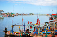 Harbour in Thailand Stock Photo