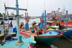 Harbour in Thailand Stock Photography