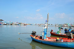 Harbour in Thailand Royalty Free Stock Image