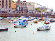Harbour, Toquay, Devon. Stock Photo