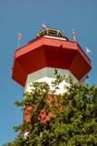 Harbour town lighthouse at hilton head south carolina Stock Images