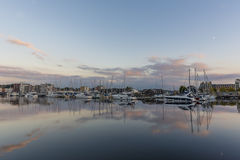 Harbour at Twilight Stock Photography