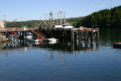 Harbour at Ucluelet Stock Photography