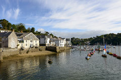 Harbour view, Fowey, Cornwall Royalty Free Stock Photo