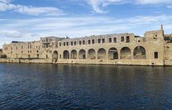 Harbour view of Lazzaretto at Valletta on Malta. Stock Photography