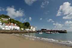 Harbour Village Of Rozel On Jersey, Royalty Free Stock Image