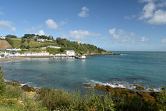 Harbour village of Rozel on Jersey, Royalty Free Stock Images
