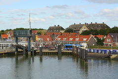 Harbour of Vlieland Royalty Free Stock Images