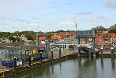Harbour of Vlieland Stock Photos