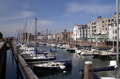 Harbour of Vlissingen Stock Photos