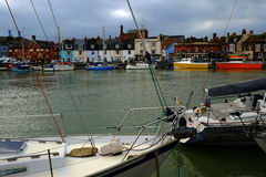 Harbour in Weymouth Dorset England Stock Image