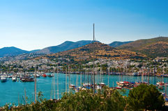 Harbour With Yachts Royalty Free Stock Image