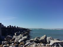 Harbour in Yzerfontein Royalty Free Stock Photos