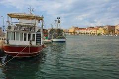 Harbour. Zadar. Croatia. Stock Image