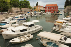 Harbour. Zadar. Croatia. Royalty Free Stock Images