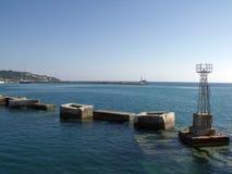 Harbour of Zakynthos City Stock Photography
