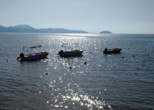 Harbour of Zakynthos City Royalty Free Stock Image