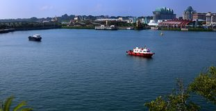 Harbourfront bay at Singapore Stock Photos
