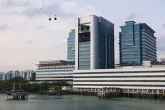 The Harbourfront Center in Singapore. Singapore Royalty Free Stock Photo