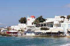 Harbourfront restauracje Fotografia Royalty Free