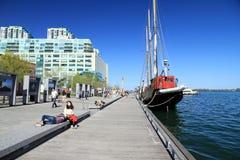 harbourfront Toronto Zdjęcie Royalty Free