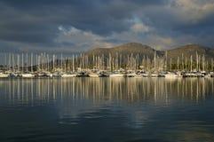 Harbouring odbicia Zdjęcie Royalty Free