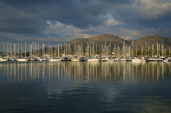 Harbouring reflections Royalty Free Stock Photo